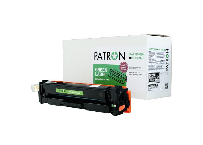 Картридж Patron Green Label аналог HP CF410A (PN-410AKGL) Black для M377, M452, M477