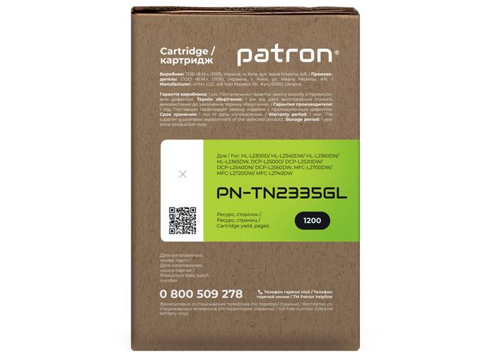 Тонер-картридж Patron Green Label (PN-TN2335GL) аналог Brother TN-2335 для L2300, L2500, L2700