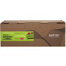 Картридж Patron Green Label аналог HP CF403X (PN-201XMGL) Magenta