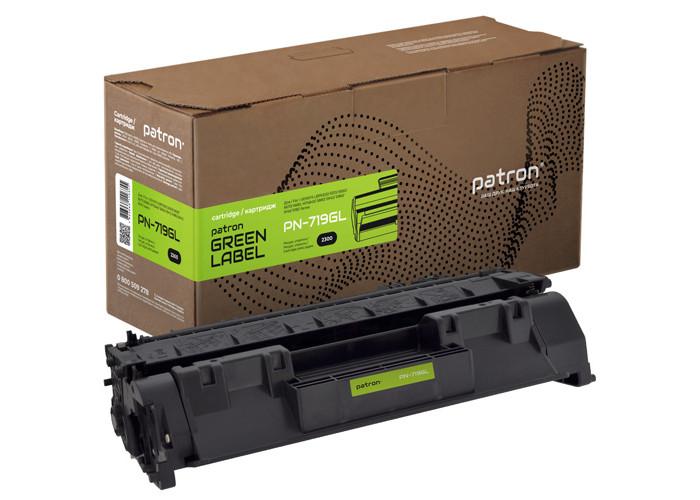 Картридж Patron Green Label аналог Canon 719 (PN-719GL) LBP-6300, LBP-6650, LBP-6670, LBP-6680, MF5580, MF5840