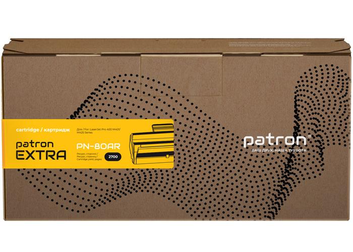 Картридж Patron Extra для HP LaserJet M401, M425 (аналог CF280A) PN-80AR