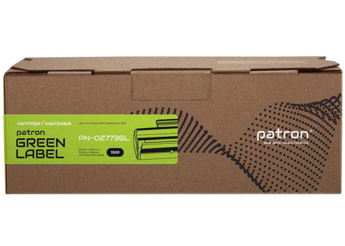 Картридж Patron Green Label аналог Xerox 106R02773 для Phaser 3020, WorkCentre 3025 (106R02773PNGL)