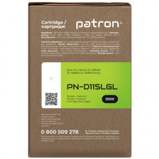 Картридж Patron аналог Samsung MLT-D115L для SL-M2620, SL-M2820, SL-M2870, SL-M2880 (PN-D115LGL) Green Label