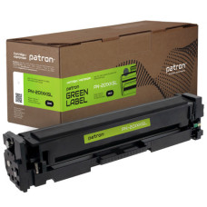 Картридж Patron Green Label аналог HP CF400X (PN-201XKGL) Black