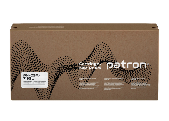 Картридж Patron аналог HP CE505A, Canon 719 (P2035, P2055, LBP-251, MF416) Green Label