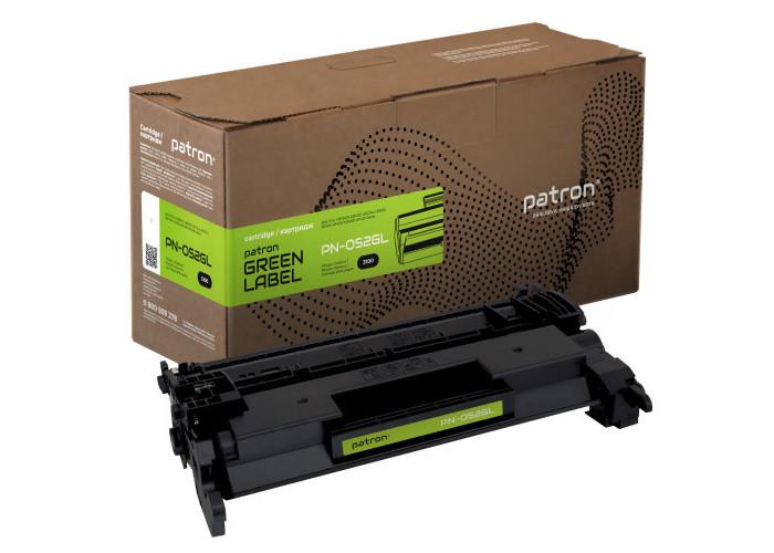 Картридж Patron аналог Canon 052 (PN-052GL) Green Label