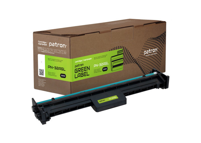 Драм-картридж Patron аналог HP 32A (CF232A) (PN-32AGL) Green Label