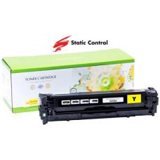 Картридж SCC для HP CLJ Pro CP1525, CM1415 (CE322A) Yellow