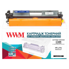 Тонер картридж WWM для HP Pro M203, M227 TONER (CF230A) LC60N