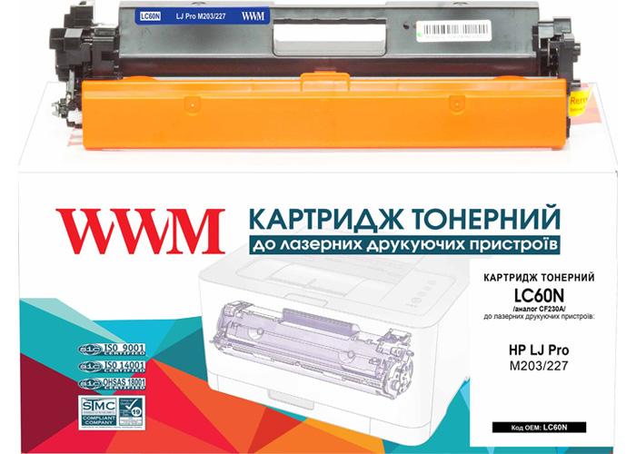 Тонерний картридж DAYTON для HP Pro M203, M227 TONER (CF230A) ресурс 1600стр