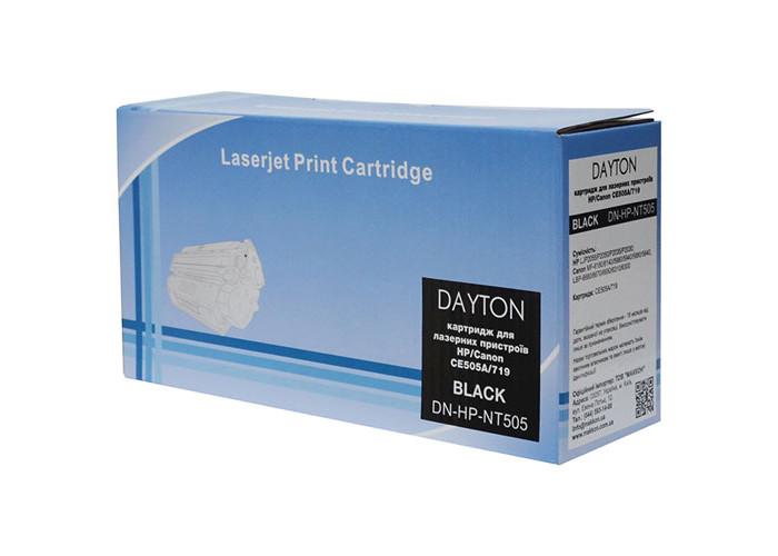 Картридж DAYTON аналог Canon 719, HP CE505A