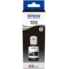 Чернила Epson 105 ecotank для L7160, L7180 (C13T00Q140) Black Pigment