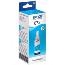 Чорнила сині Epson L800, L805, L810, L850, L1800 (C13T67324A) Cyan