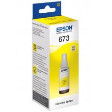 Чорнила жовті Epson L800, L805, L810, L850, L1800 (C13T67344A) Yellow