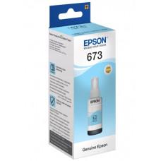 Чорнила блакитні Epson L800, L805, L810, L850, L1800 (C13T67354A) Light Cyan