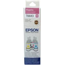 Чорнило Epson L100, L110, L200, L300, L365, L455, L486, L550, L565, L1300, L3050 (C13T66434A) Magenta