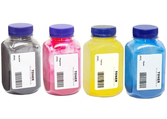 Комплект тонеру АНК для Kyocera Ecosys P5021, M5521 (3203810) Black 35г, Color 30г