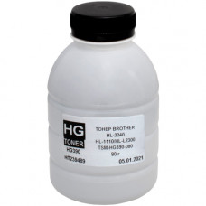 Тонер HG для Brother HL-2240, HL-1110, DCP-1510, DCP-7057, MFC-1810, MFC-1815 (HG390-080) 80г