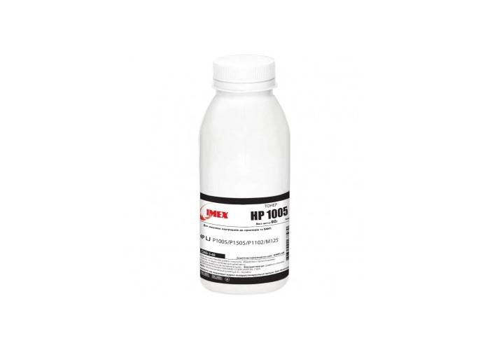 Тонер IMEX для HP P1005, P1505, P1102, P1606, M1522, M1120, M125, Canon LBP-3010, LBP-6020 (CMG-3-60) 60г