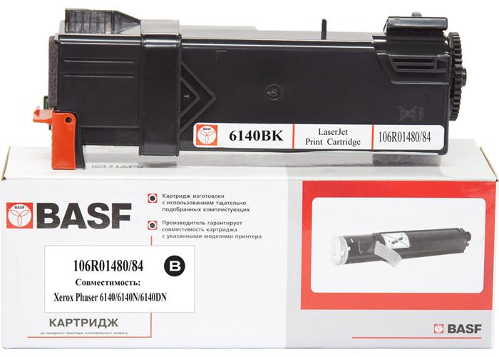 Картридж BASF для Xerox Phaser 6140 (106R01484/106R01480) Black