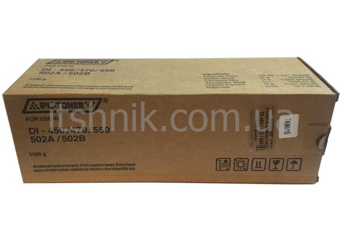 Тонер IPM аналог Konica Minolta 502B для DIALTA DI-450, DI-470, DI-550 (TKMN15)