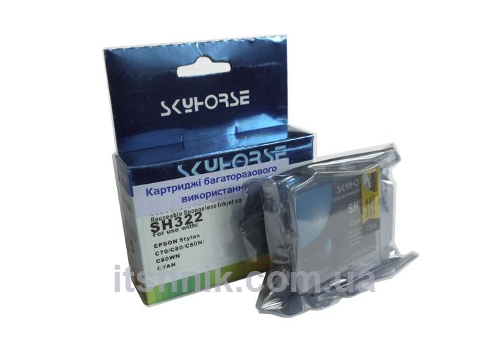 Картридж Epson Stylus C70, C80 (C13T03224010) Cyan