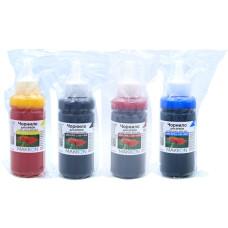 Комплект чорнил для Epson L100, L130, L200, L300, L365, L550, L1300 (4x100мл) Makkon