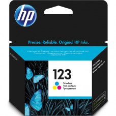 Картридж HP No.123 для DeskJet 2130, 2620, 2630, 3639 (F6V16AE) Color