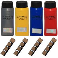 Комплект для заправки Samsung CLP-310, CLP-315, CLP-320, CLX-3170, CLX-3175 (409S) IPM