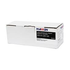 Туба з тонером Makkon аналог Kyocera TK-130 (FS-1028, FS-1128, FS-1300, FS-1350) 7.2k з чіпом