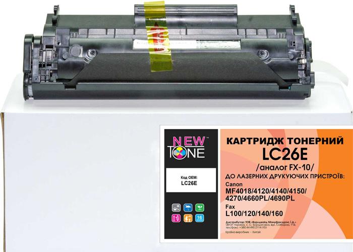 Картридж NewTone LC26E аналог Canon 703, FX-10 для LBP-2900, MF4018, MF4150, MF4270, MF4320, MF4350, MF4690