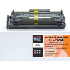 Картридж NewTone аналог Canon 703, Q2612A для HP 1010, 1018, 1020, 3020, LBP-2900, LBP-3000