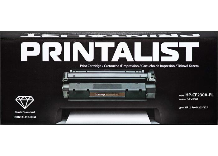 Картридж Printalist аналог HP 30A, CF230A (M203, M227)