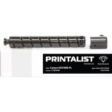 Туба з тонером PRINTALIST аналог Canon C-EXV49 для iR C3320, C3325, C3330, C3520, C3525 (8524B002) Black