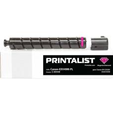 Туба з тонером PRINTALIST аналог Canon C-EXV49 для iR C3320, C3325, C3330, C3520, C3525 (8526B002) Magenta