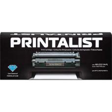 Картридж PRINTALIST для HP Color LaserJet Pro 200 M251, M276 аналог CF211A Cyan