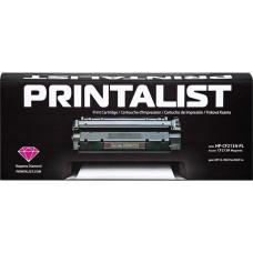 Картридж PRINTALIST для HP Color LaserJet Pro 200 M251, M276 аналог CF213A Magenta