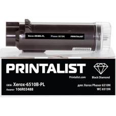 Картридж PRINTALIST для Xerox Phaser 6510, WorkCentre 6515 (аналог 106R03488) Black