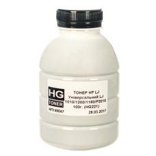 Тонер HG для HP універсальний 1010, 1200, 1160, P2015 (HG221) (TSM-HG221-100) 100г