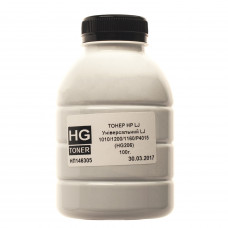 Тонер HG для HP універсальний 1010, 1200, 1160, P4015 (HG206) (TSM-HG206-100) 100г