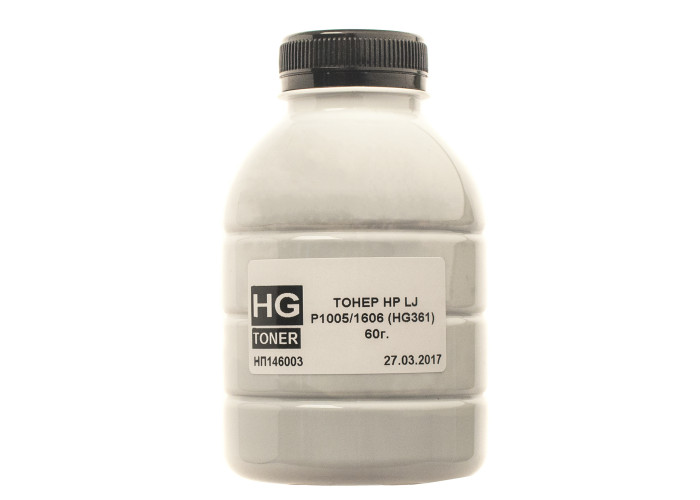 Тонер HG для HP P1005, 1606 (HG361) (TSM-HG361-060) 60г