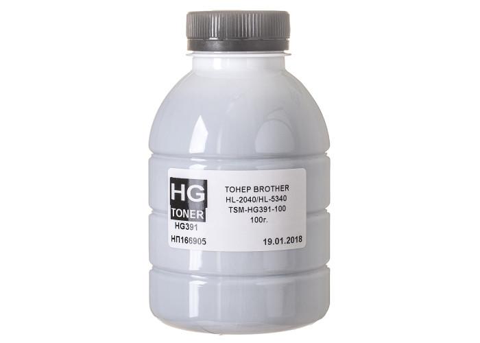 Тонер HG для Brother HL-2040, HL-5340, DCP-7025, MFC-7420 (TSM-HG391-100) 100г