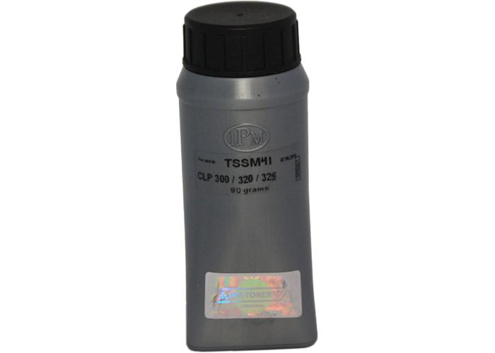 Тонер IPM для Samsung CLP-300, CLP-310, CLP-320, CLP-360, CLX-3160, CLX-3170, Xerox Phaser 6110 (TSSM41) Black