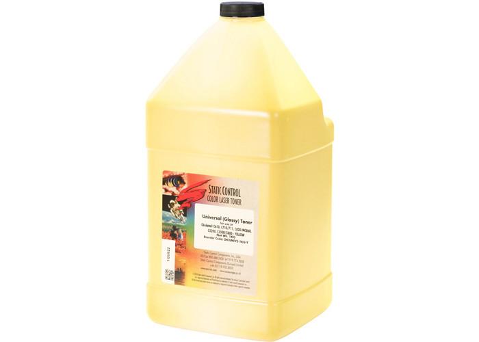 Тонер SCC для OKI C5200, C5300, C5600, C5700, C5800, C5900, C610, C810, MC780 (OKIUNIV2-1KG-Y) Yellow 1кг
