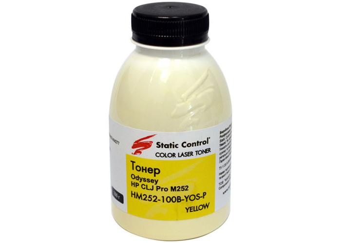 Тонер SCC для HP CLJ M252, M274, M277, M452, M476, M477, M651 (HM252-100B-YOS-P) Yellow