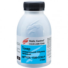 Тонер SCC для HP CP1515, CP1525, CP2025, CP3525, CP4025, CP5525, M551 (MPTCOL-150B-COS-P) 150г Cyan