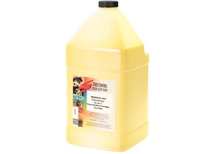 Тонер SCC для Brother універсальний Yellow (TRBUNIVCOL-1KGY) 1кг