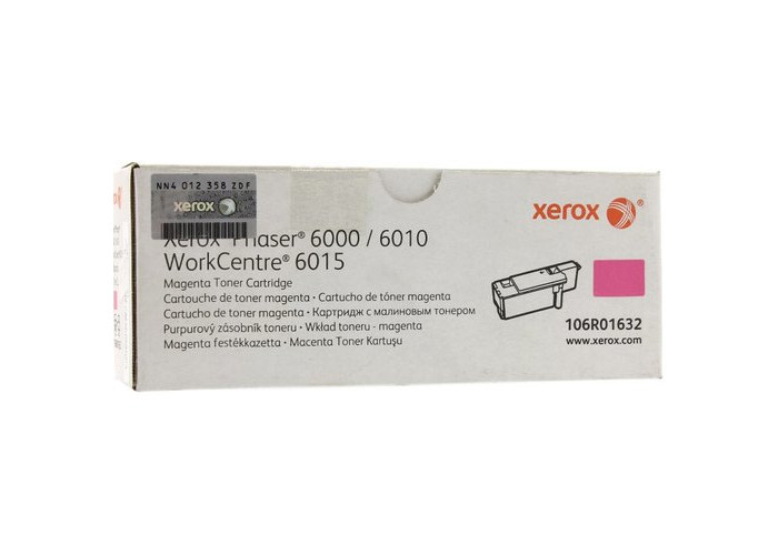 Тонер-картридж Xerox Phaser 6000, 6010, WorkCentre 6015 (106R01632) Magenta