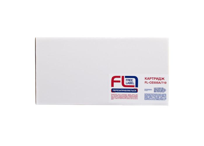 Картридж FREE Label аналог HP CE505A, Canon 719 (FL-CE505A)