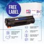 Картридж FREE Label аналог HP Q2612A, Canon 703 (FL-Q2612A)